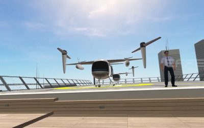Virtual Reality Development for Business Applications – Flying Vehicles